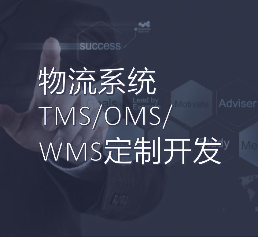 物流系统TMS/OMS/WMS定制开发