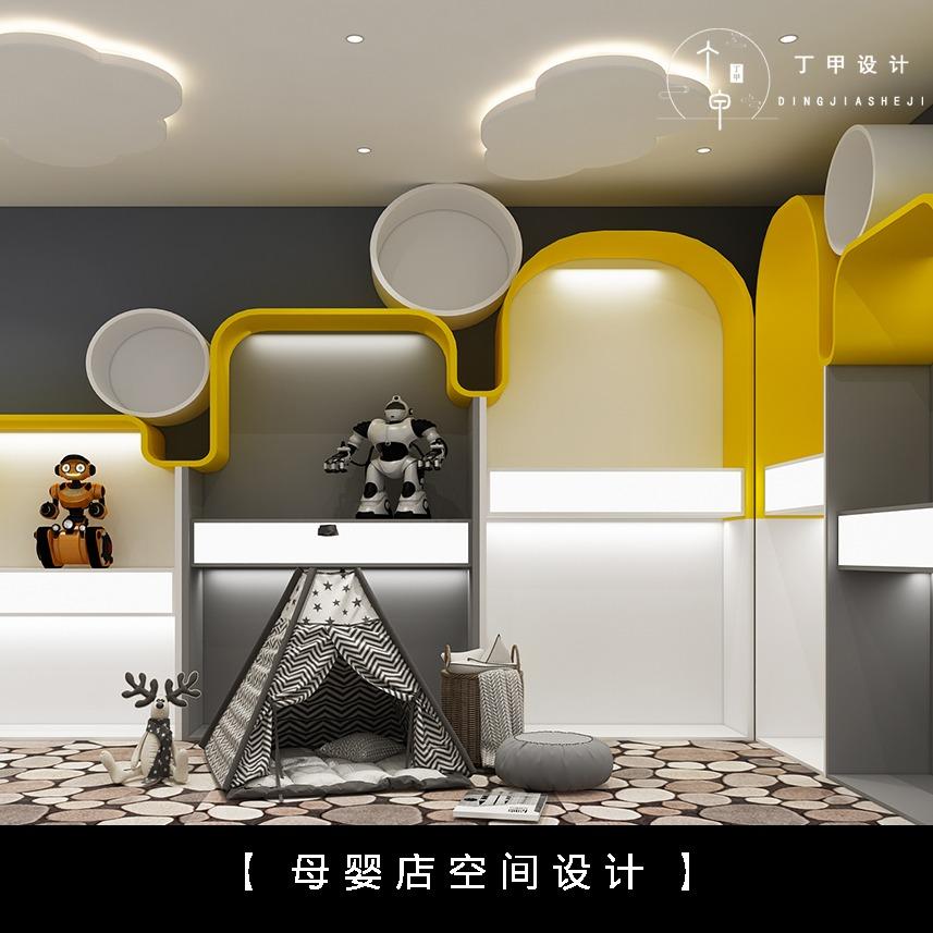 母婴店设计 室内设计 专卖店装修设计 加盟连锁店空间设计