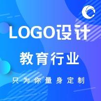 文化教育公司个性企业 LOGO 教育文化 LOGO 商标图文 LOGO