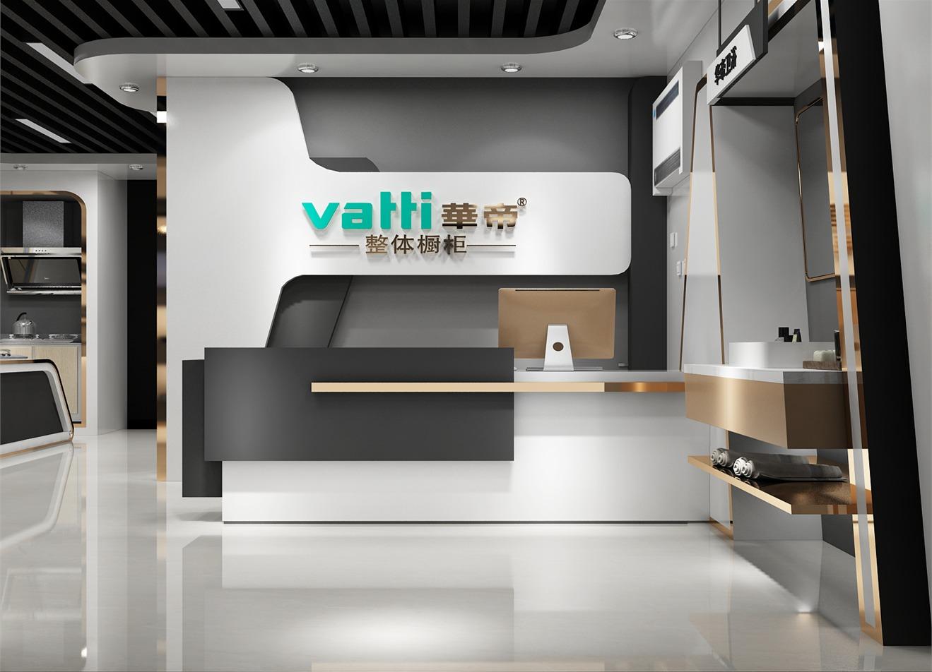 热水器橱柜展厅设计公装效果图设计室内设计效果图设计