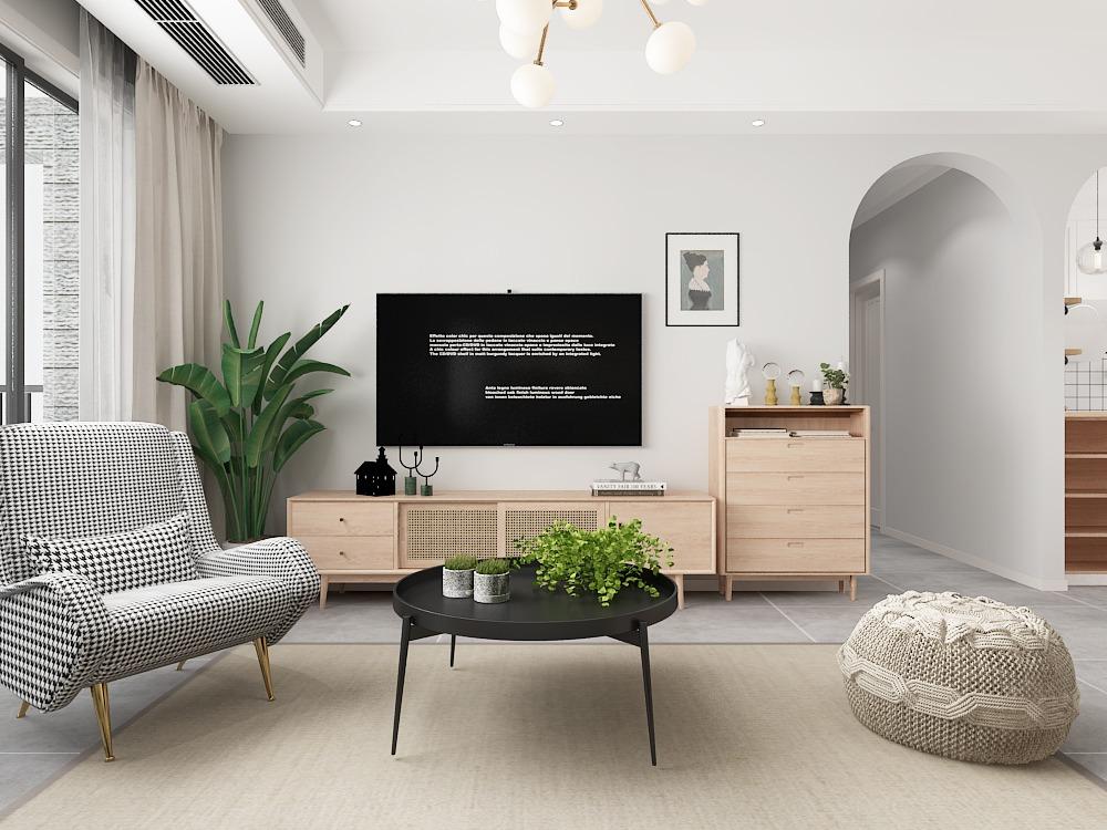 简约北欧<hl>家装</hl>设计效果图设计室内设计<hl>家装</hl>设计