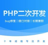 PHP各种系统二次开发疑难bug解决asp开发