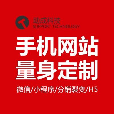 手机PC网站/微网站/WAP网站/响应式网站/网站开发微商城