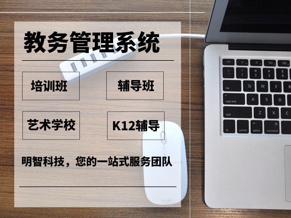 教育培训/艺术培训/辅导班/K12教务管理系统后台软件开发