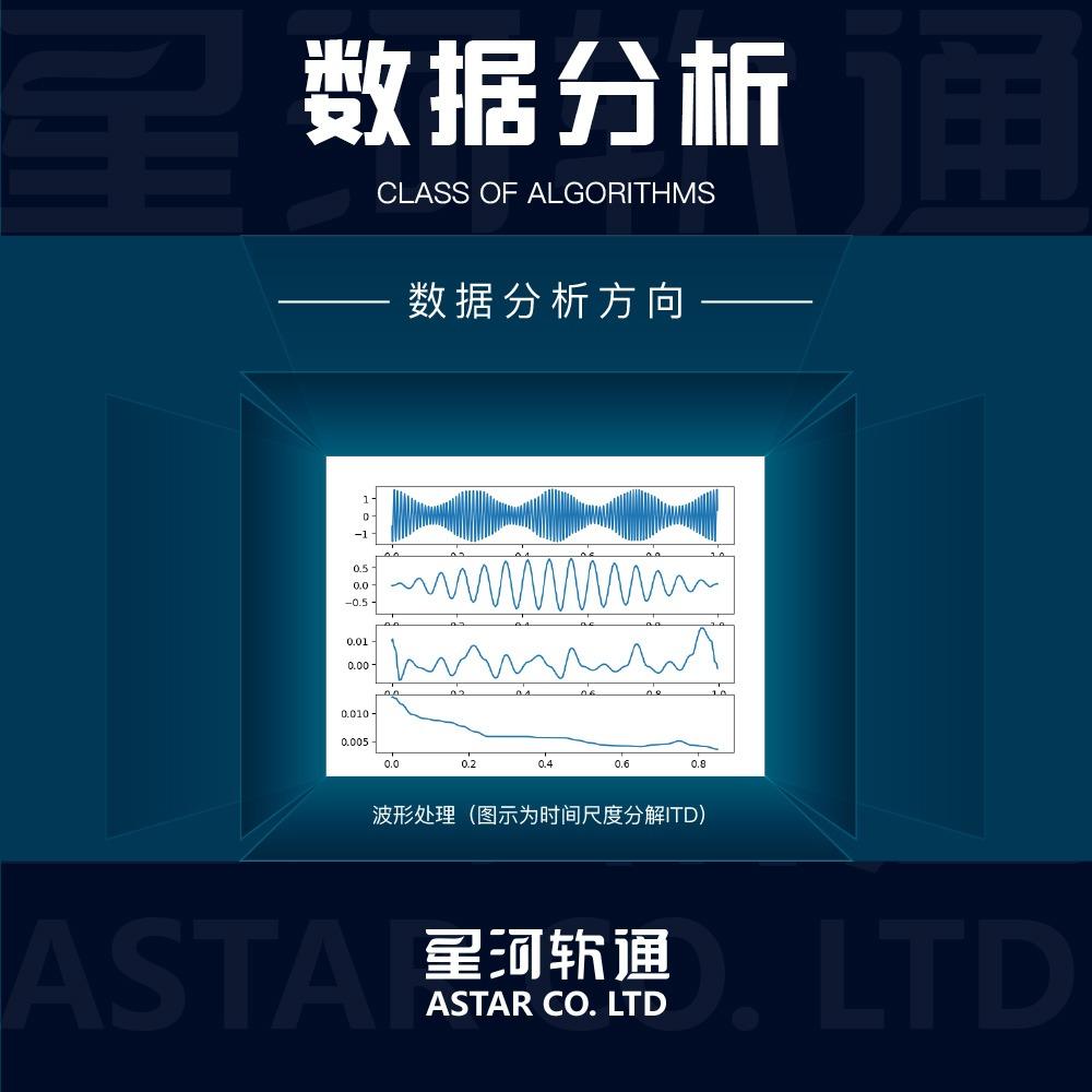 【数据处理】数据分析/数据处理/算法定制