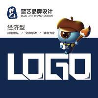 【蓝艺设计】LOGO设计/卡通/品牌形象/企业/娱乐/餐饮