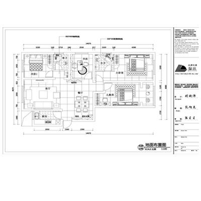 装修装饰设计  电子档CAD  施工图设计