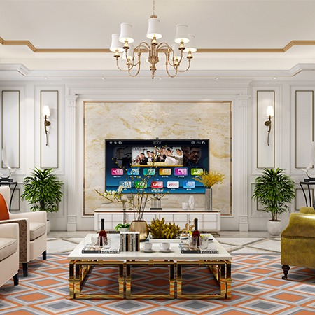 室内 设计 新房 装修设计 效果图  设计师 简欧