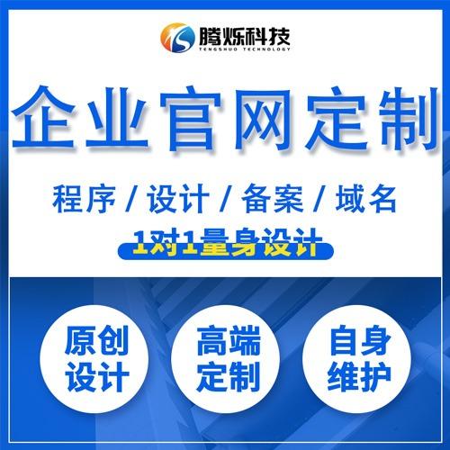 【企业官网定制】企业网站建设 网站开发设计 手机网站 定制版