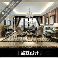 欧式风格设计,现代欧式风格设计,低奢风格设计,古典欧式设计