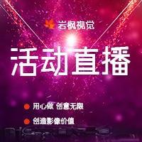 峰会/年会/晚会/大型活动/周年庆典等摄像视频摄影云直播服务