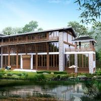 民宿设计  农家乐 效果图 施工图 水电 结构 全套