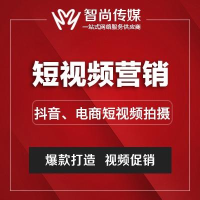 抖音短 视频 营销 电商  视频 拍摄制作火山快手网红大v推广淘宝直播