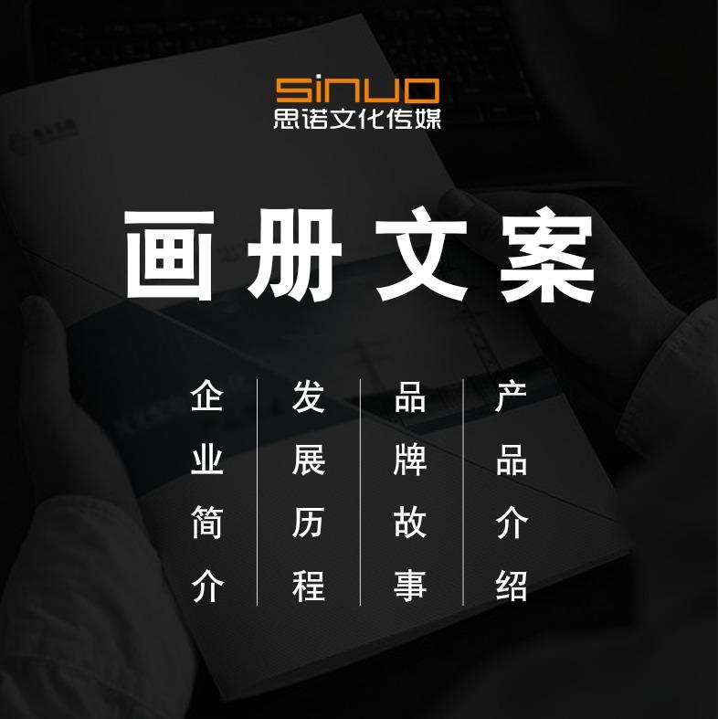 企业画册/公司简介/产品手册指南/图文设计排版/宣传文案脚本