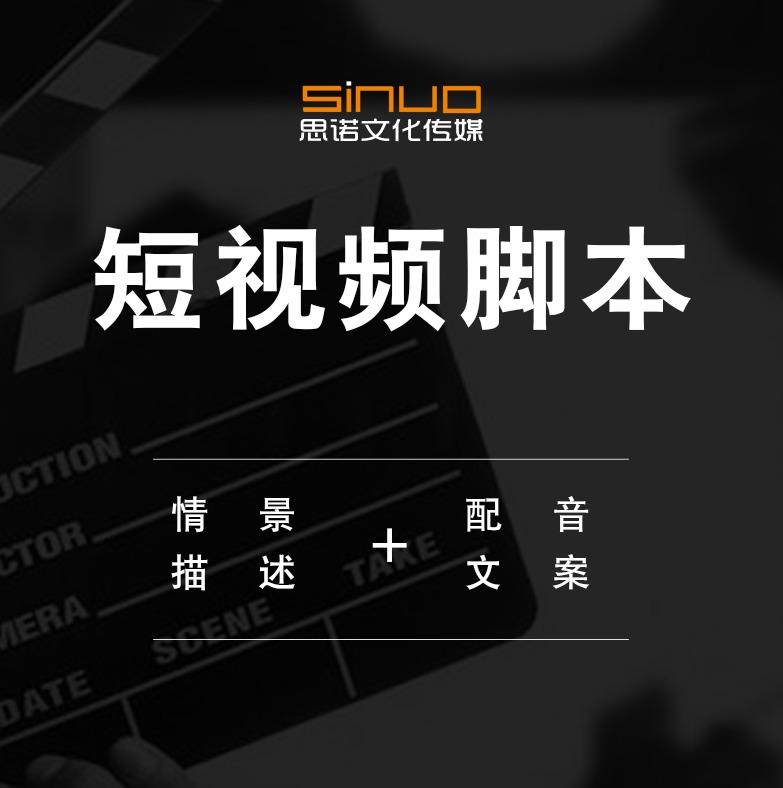 短视频脚本/抖音快手文案/企业宣传片配音文字稿/广告短片文案