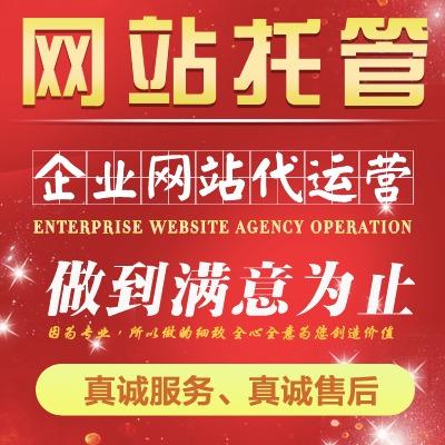 网站代运营公司企业网站网店代运营品牌维护日常运营网站托管