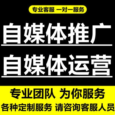 今日头条百家号企鹅号大鱼号新媒体自媒体文案文章代写作代运营