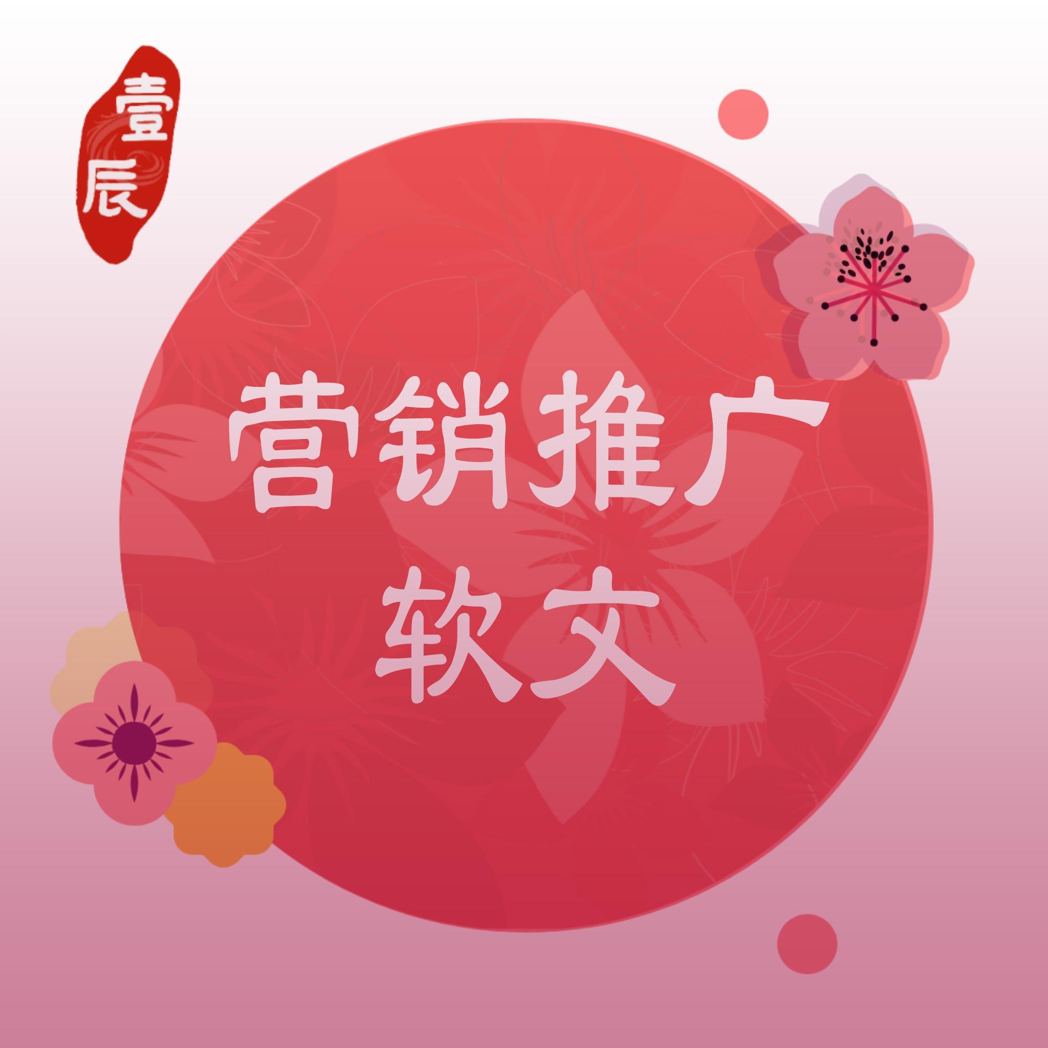 营销推广专业文案代笔润色seo关键词软文朋友圈广告段子宣传语