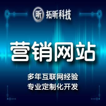 营销企业网站建设官网建设企业品牌网站定制开发形象招商网站营销