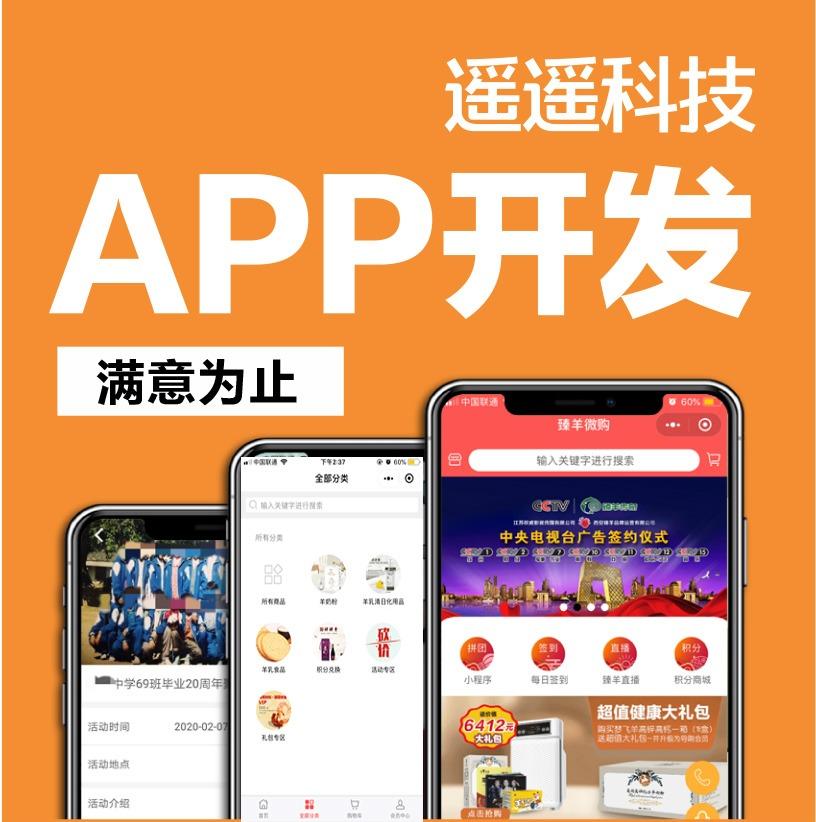app定制开发 电商行业app app原生开发 app外包