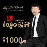 卡通 logo 设计吉祥物人物形象图文英文餐饮农产品 LOGO 设计
