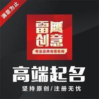 【雷鹰团队】公司取名字品牌起名企业商标产品店铺命名APP网站