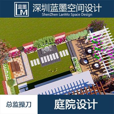 别墅庭院设计私家花园设计屋顶花园露台景观私家园林设计民宿效果