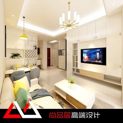 家装设计新房装修现代风格新房设计效果图客厅餐厅卧室书房设计
