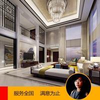 【高级设计】室内设计装修设计别墅装修效果图制作自建房效果图