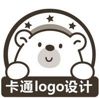 公司企业卡通文字英文logo吉祥物品牌人物形象标志商标设计