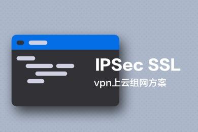 IPSec SSL  上 云组网方案(虚拟专有网络)