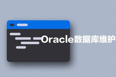 Oracle数据库维护