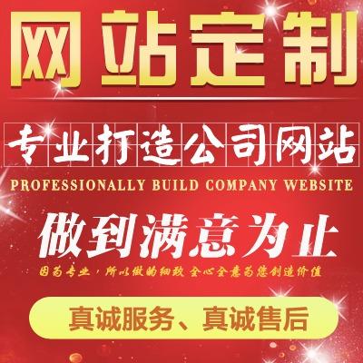 企业网站开发 公司网站建设 程序开发 定制企业网站