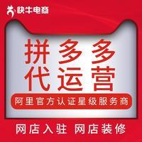 拼多多 代运营 网店策划直通车 电商 服务精准营销官方认证星级服务商