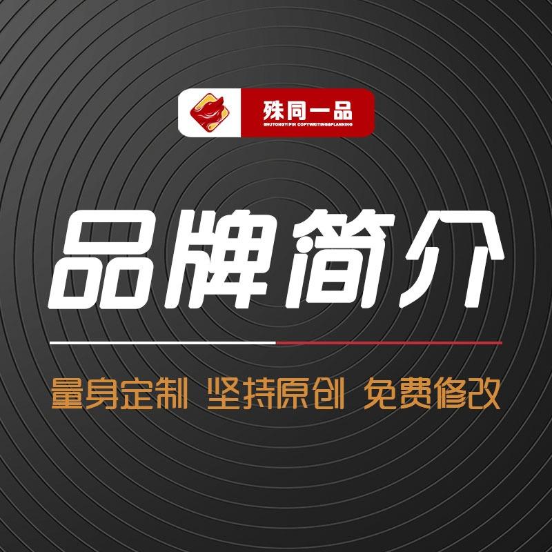 公司品牌简介绍公司品牌故事品牌文化全案策划宣传手册PPT策划