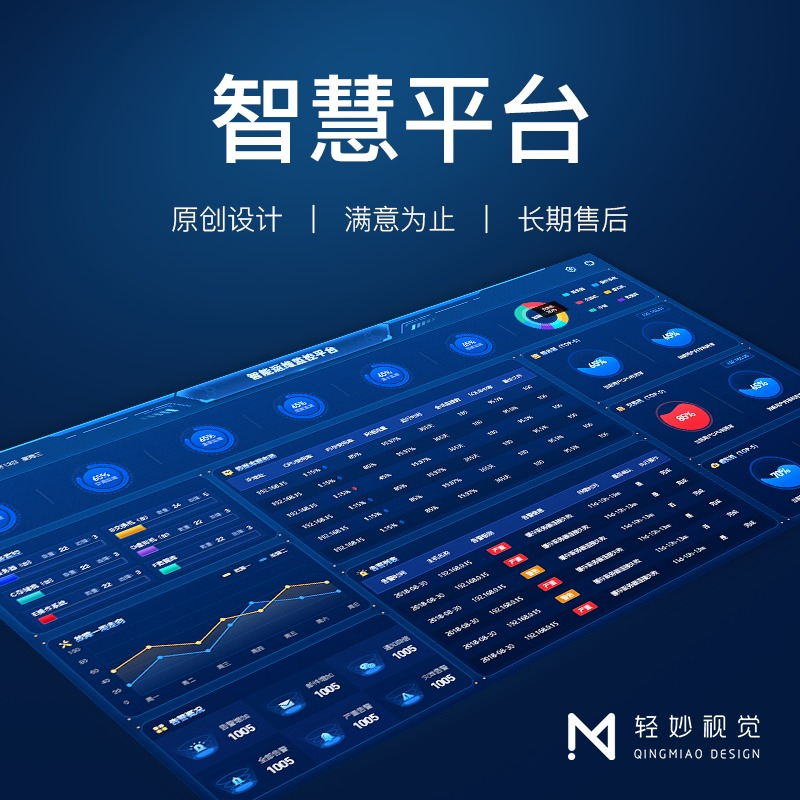 软件界面ui设计登录页面IT综合能耗运维管理系统交易金融理财