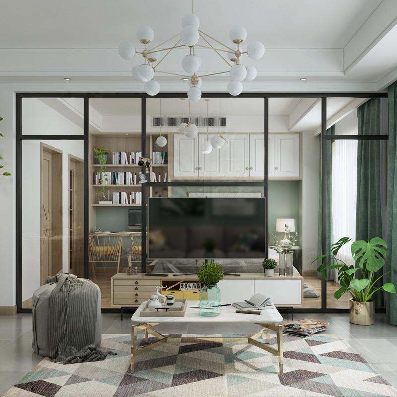 室内设计师/室内建模设计/新房装修设计/现代北欧风格施工图