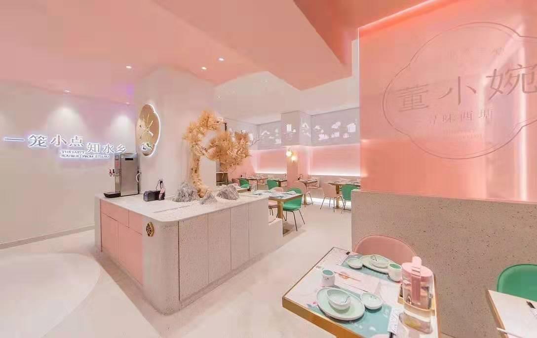 网红餐厅 餐厅设计 餐厅装修 连锁店面 创意餐厅