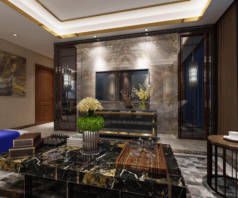 【李栋】.室内家装设计.效果图设计.新房装修设计.港式现代.