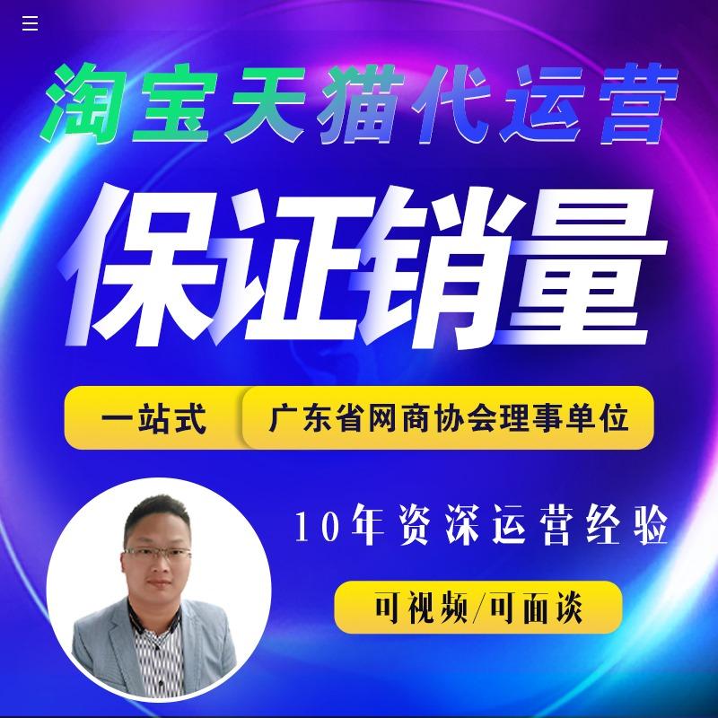 广州淘宝代运营网店托管店铺推广天猫代运营整店外包代营销代销售