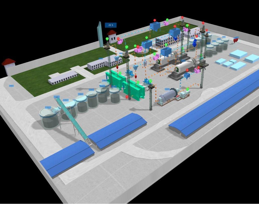数字工厂/三维工厂/工厂可视化/web3d平台/三维平台