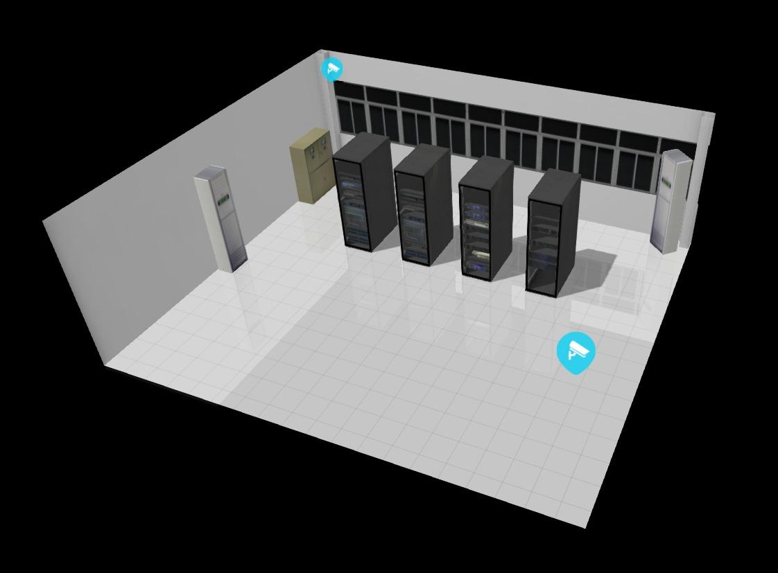 数字机房/三维机房/机房可视化/3d机房/3d平台/三维平台