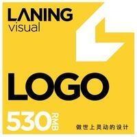 兰灵视觉logo设计图标设计标志设计商标设计品牌设计平面设计