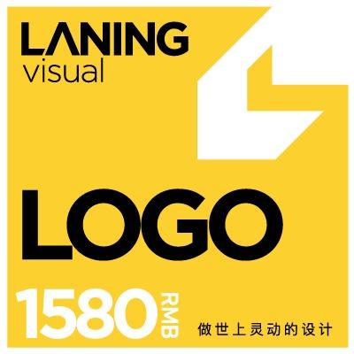 兰灵视觉总监设计餐饮/公司logo设计卡通形象LOGO设计