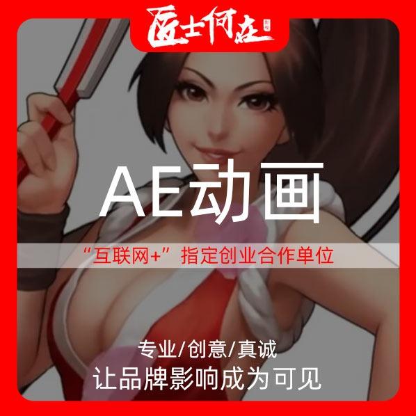 AE动画动漫视频二维动画flash动画MG动画制作手绘动画