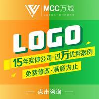 字体设计LOGO设计餐饮房产教育金融通讯旅游字体logo设计