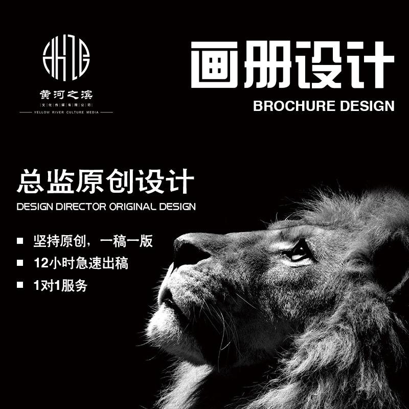 公司画册产品手册宣传册宣传画册产品画册招商手册ppt文案设计