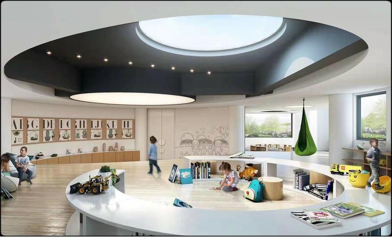 幼儿园设计  幼儿园效果图  幼儿园施工图  教育机构