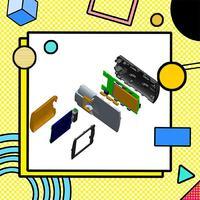 【手持设备】外观结构设计/工业电子/户外终端/安防/工程设备