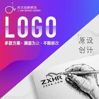 公司英文logo设计企业金融餐饮科技品牌LOGO标志商标设计